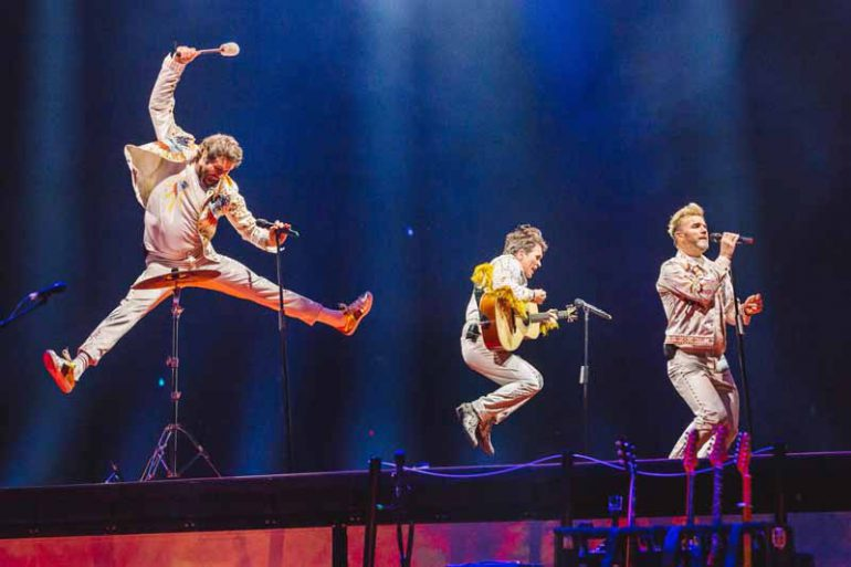 """Take That Greatest Hits Live 2019"" Echter Kreischalarm im Kino"